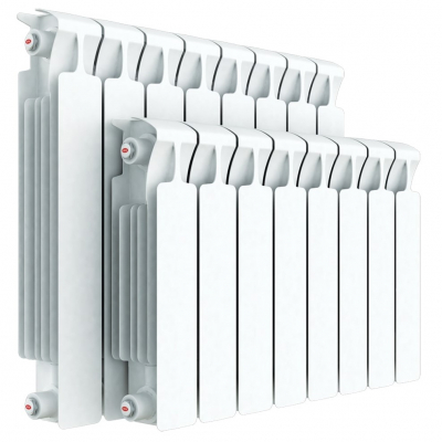 Монолитные биметаллические радиаторы RIFAR MONOLIT с боковым подключением