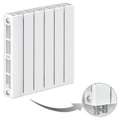 Монолитные биметаллические радиаторы RIFAR SUPReMO VENTIL с нижним подключением