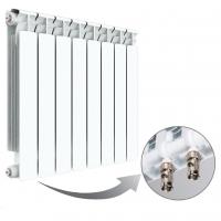 Радиатор биметаллический Rifar Alp 500 Ventil с нижним подключением (одна секция)