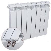 Радиатор алюминиевый Rifar Alum 350 Ventil с нижним подключением (одна секция)
