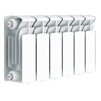 Радиатор биметаллический Rifar Base 200 с боковым подключением (4 секции)