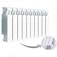 Радиатор биметаллический Rifar Monolit 350 Ventil с нижним подключением (4 секции)