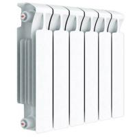 Радиатор биметаллический Rifar Monolit 350 с боковым подключением (4 секции)