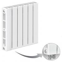 Радиатор биметаллический Rifar Supremo 500 Ventil с нижним подключением (одна секция)